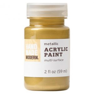 Gold metallic paint
