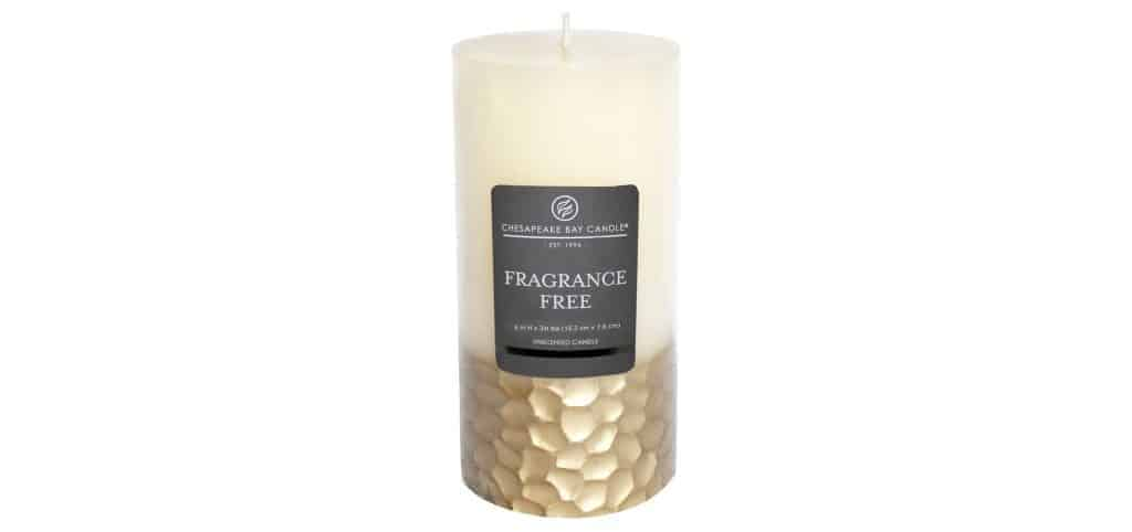 Gold Ivory candle