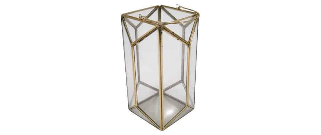Outdoor gold lanter