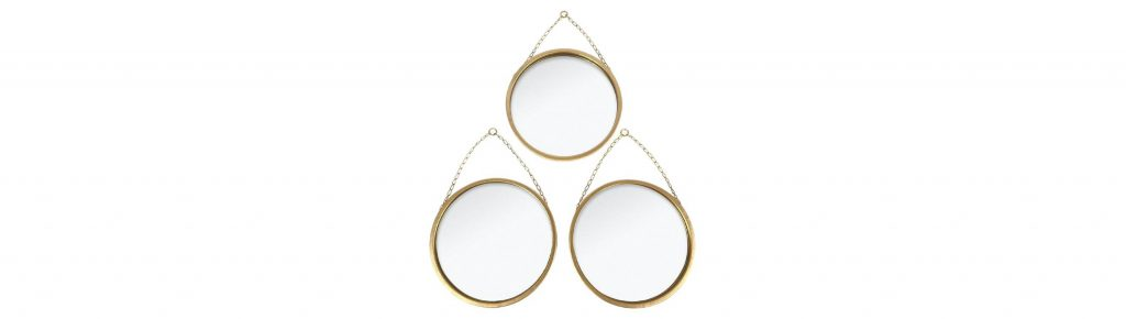 three piece mirror set