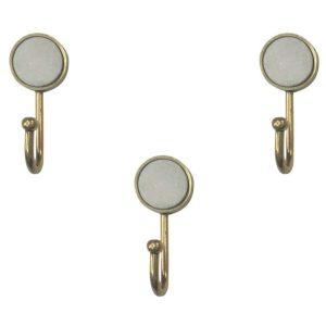 marble gold hooks