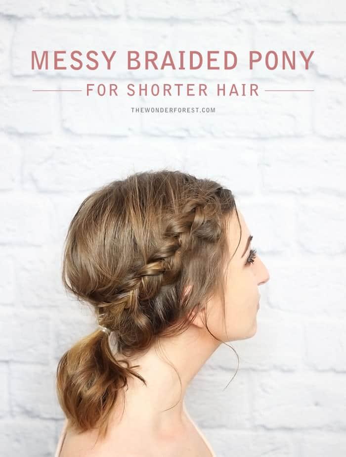 messy braided pony-min