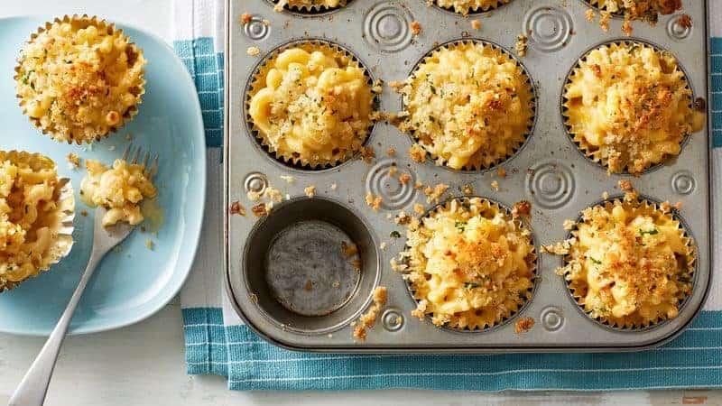 muffin tin mac n cheese