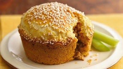 muffin tin cheeseburger