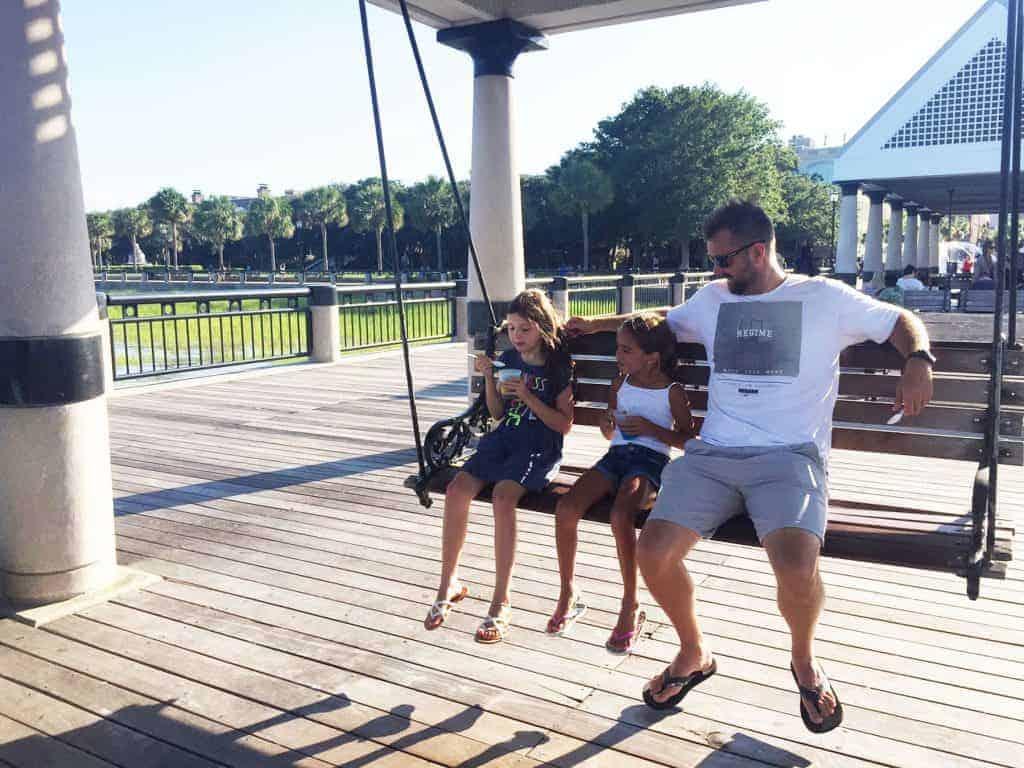 Charleston swings