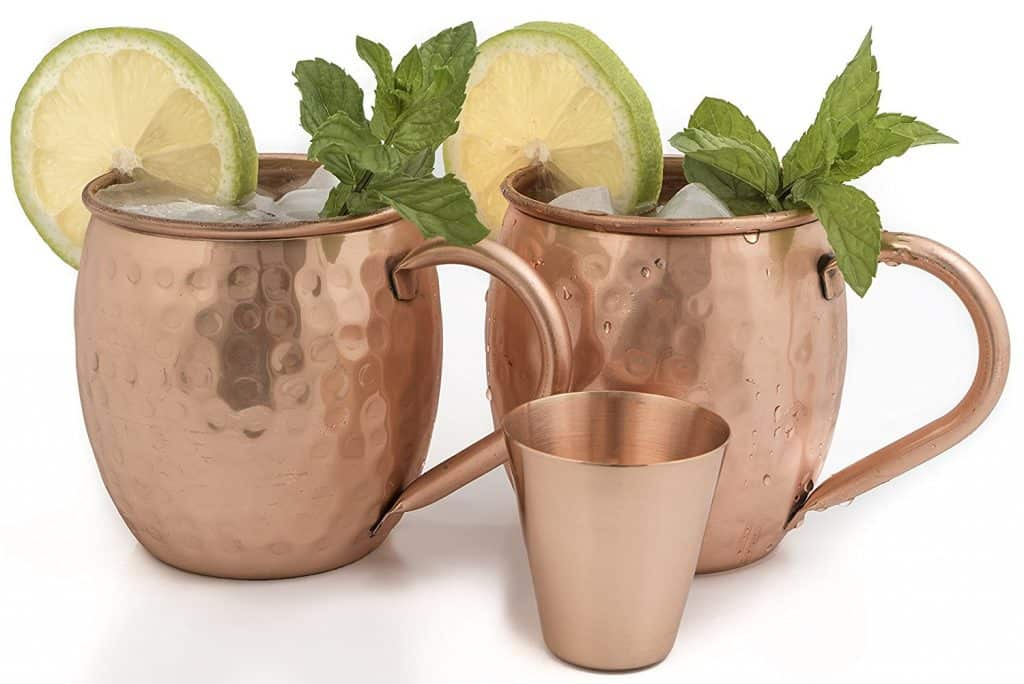 Moscow mule bar set