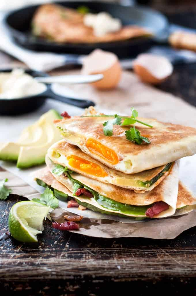 Egg-Bacon-Avocado-Quesadilla
