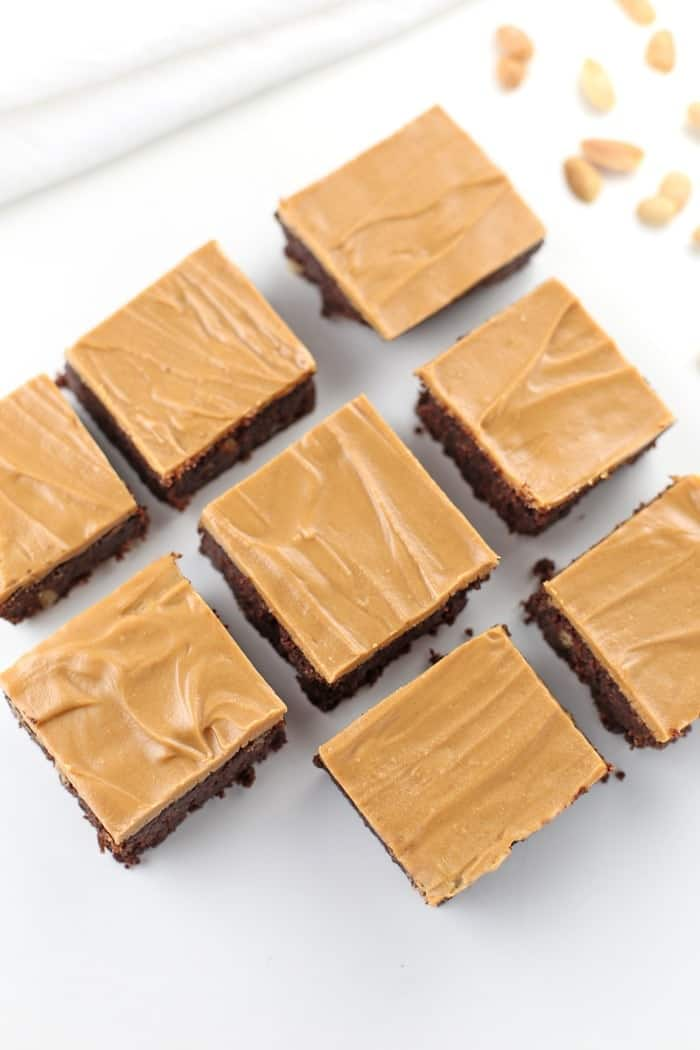 Low-Carb-Chocolate-Peanut-Butter-Brownies