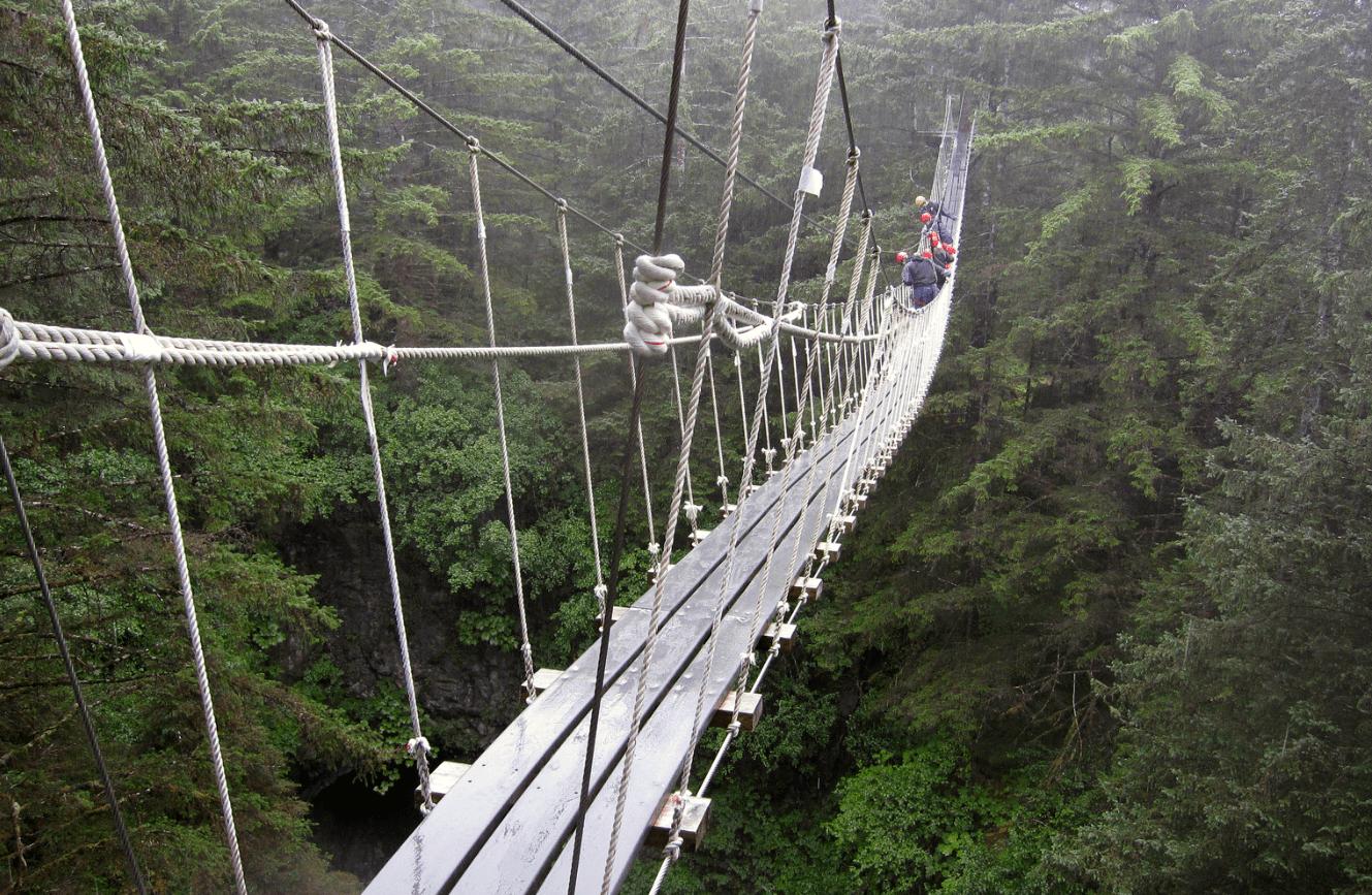 Skybridge Ketchikan Alaska