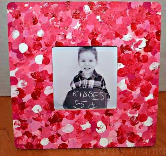 valentine's fingerprint frame
