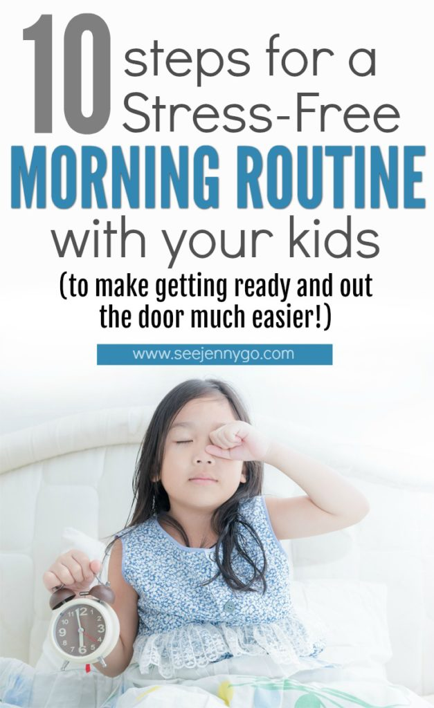 getting kids ready for school - morning routine with kids #parenting #tips #ideas #hacks #morning #routine #school #backtoschool #kids #children