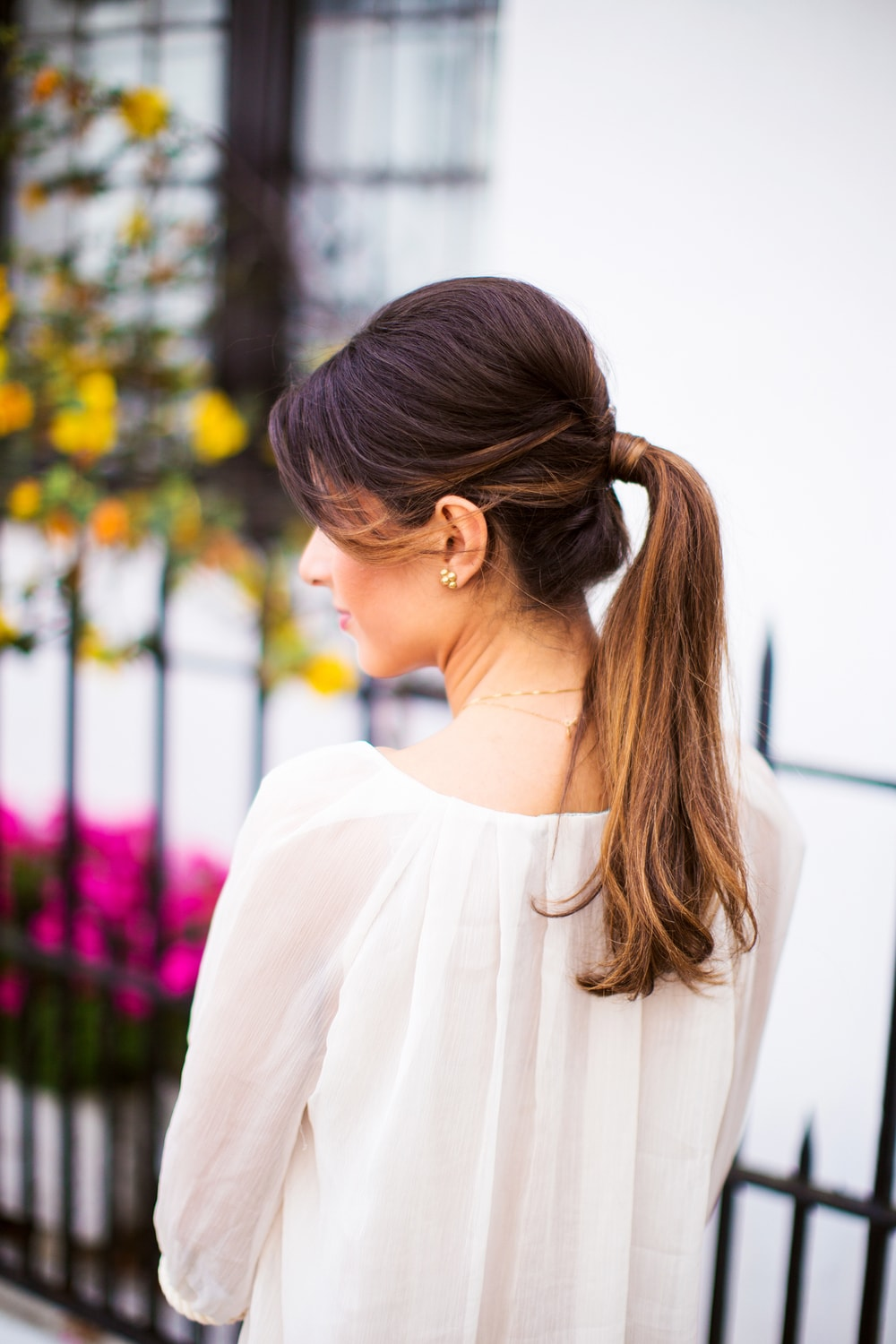 Summer Perfect Ponytail Hairstyle