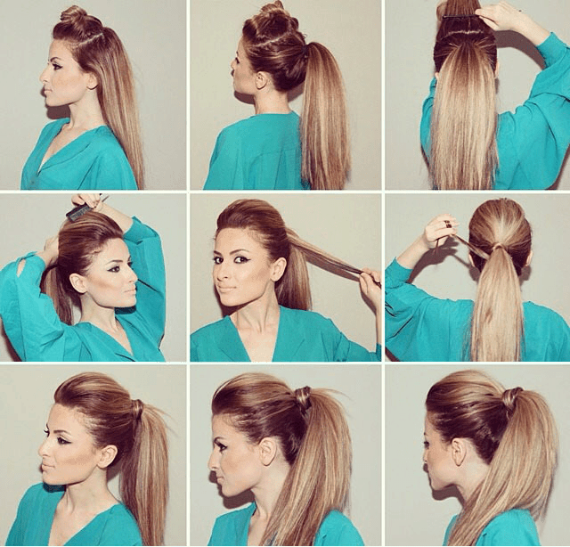the party ponytail