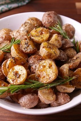 rosemary parmesan potatoes