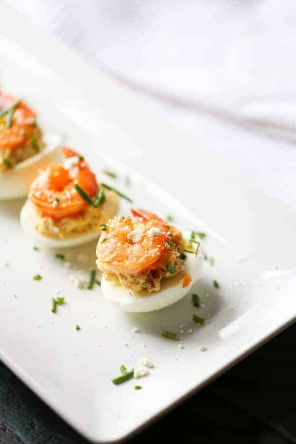 Buffalo-Shrimp-Deviled-Eggs