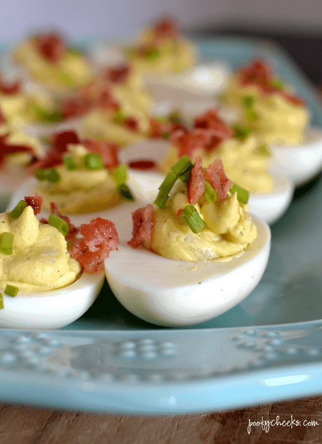 instant pot ranch deviled eggs