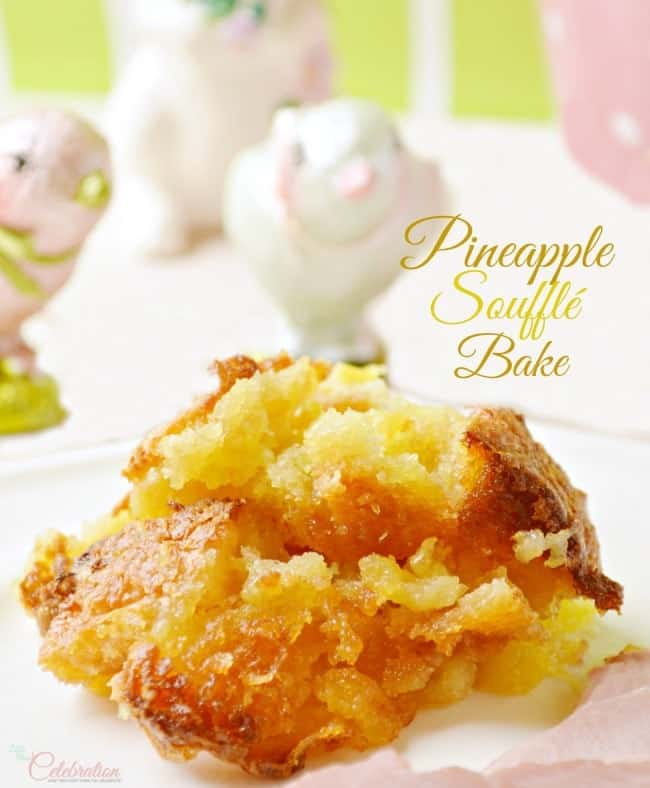 pineapple souffle bake