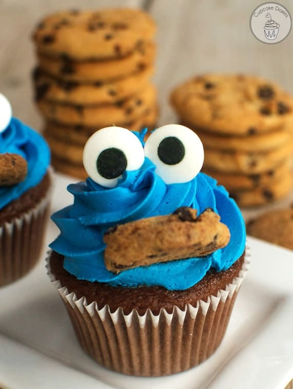cookie-monster-cupcakes